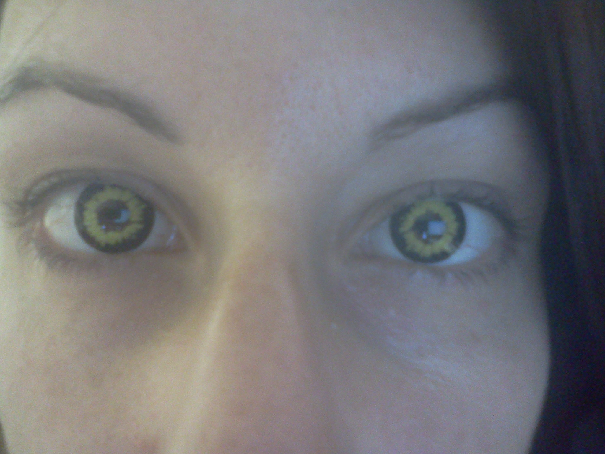 Look Into My Eyes Thoughts Appear