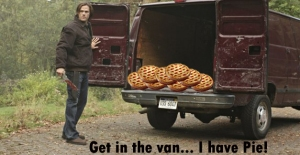 I know not to take candy from strangers, but I would totally get in this van.